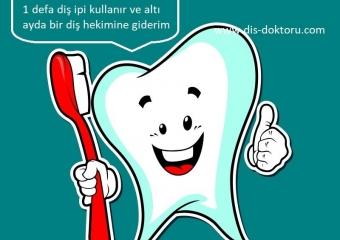 Ağız ve Diş Temizliği Uyarıları ve Doğru Diş Fırçalama